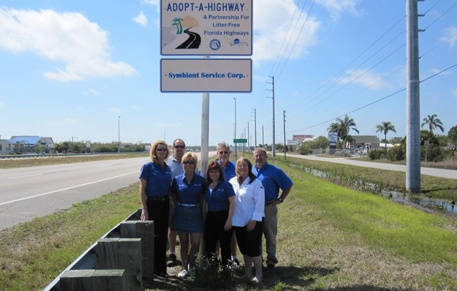 Symbiont Service Corp's Adopt A Highway Committee