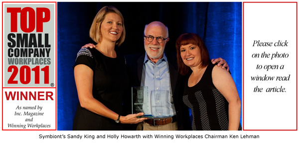 2011 Top Small Company Workplace Award Winner