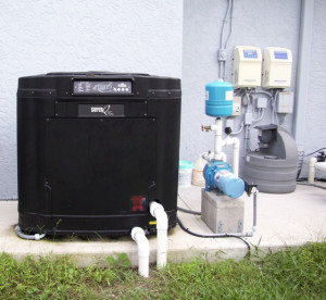 Residential & Commercial Pool/Spa Heat Pumps