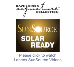 Lennox SunSource videos