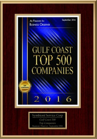 Gulf Coast Top 500 Company Award