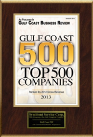 Top 500 GulfCoast Award