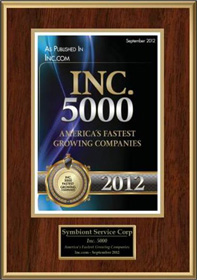 top 5000 inc award