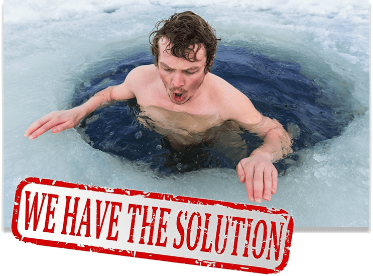 Swimming in Ice - We have the Solution