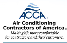 ACCA Air Conditioning Contractors Association Member