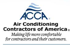 ACCA Air Conditioning Contractors Association Member