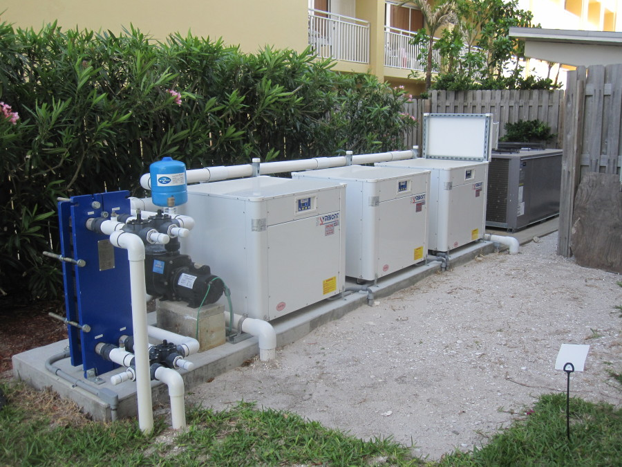 Continental Towers Clearwater Florida Symbiont GeoThermal Pool Heaters