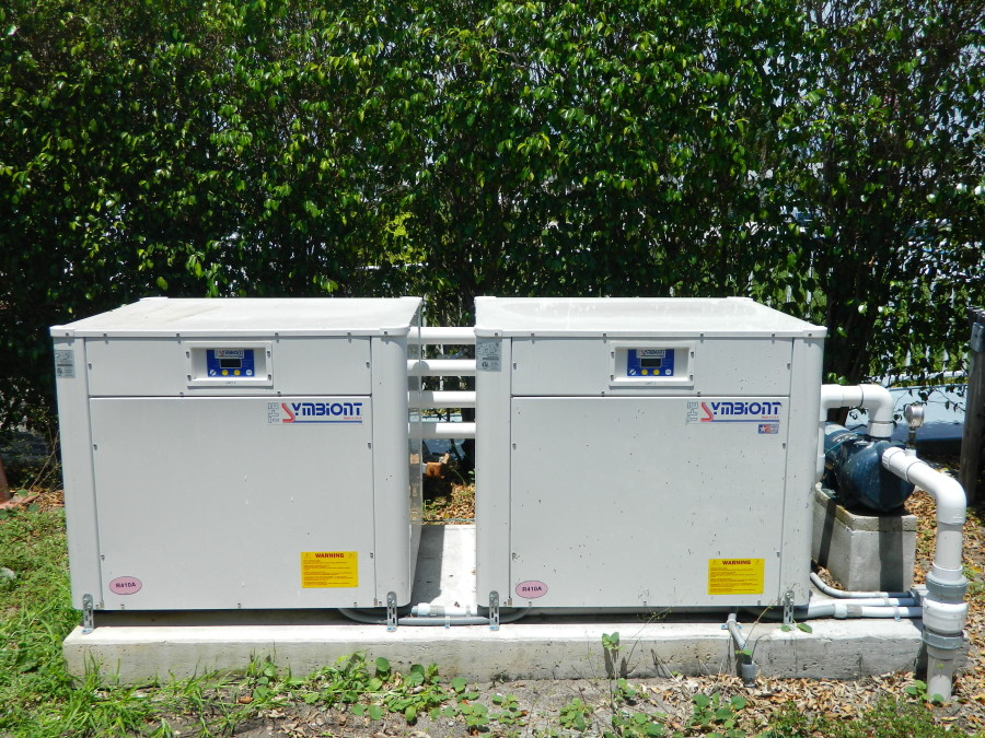 High Point of Delray Beach 1 Condo Symbiont GeoThermal Pool Heaters