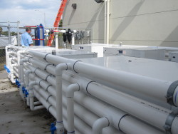 Boca Raton High School Florida GeoThermal Pool Heaters with Piping