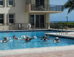 Opal Towers Condo Women's Water Aerobics