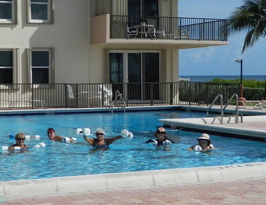 Opal Towers Condo Women's Water Aerobics