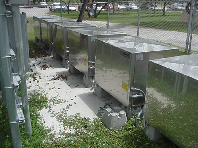 GeoThermal Heat Pumps of Tamiami Aquatic Center