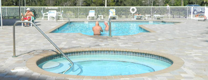 Pool of Golf Lake Largo FL