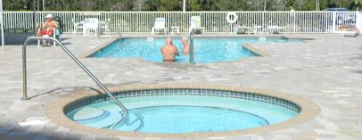 Pool of Golf Lake Largo FL