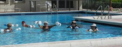 Pool of Opal Towers Hillsboro Beach