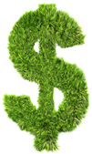 Being Green Means Saving Green