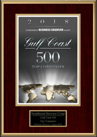 Gulf Coast 500 Top Companies Award 2018
