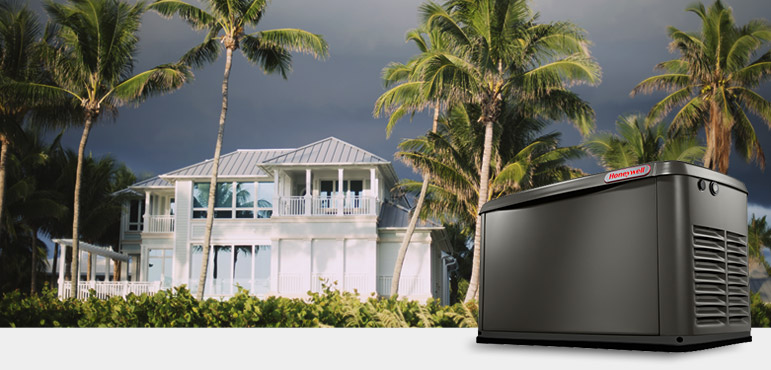 Stormy weather in Florida - Home Backup Generator