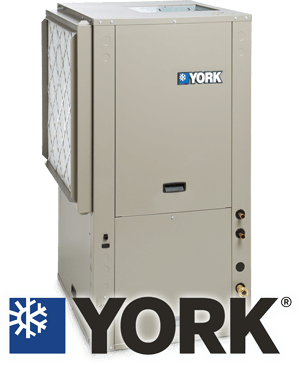 York GeoThermal Heat Pump with Logo