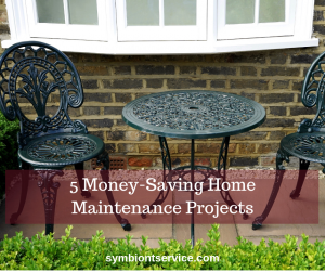 5 money saving home projects