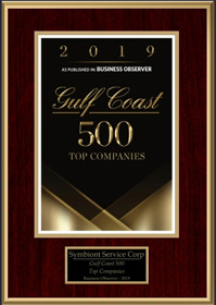 Gulf Coast 500 Top Companies Award 2019