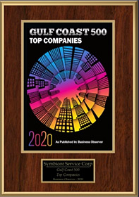 Gulf Coast 500 Top Companies Award 2020