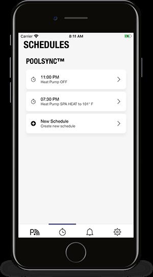 PoolSync App - Scheduling
