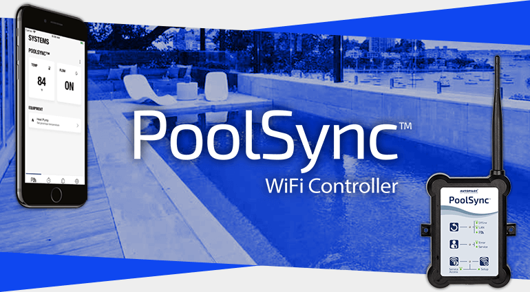 PoolSync Wifi Controller and App Banner