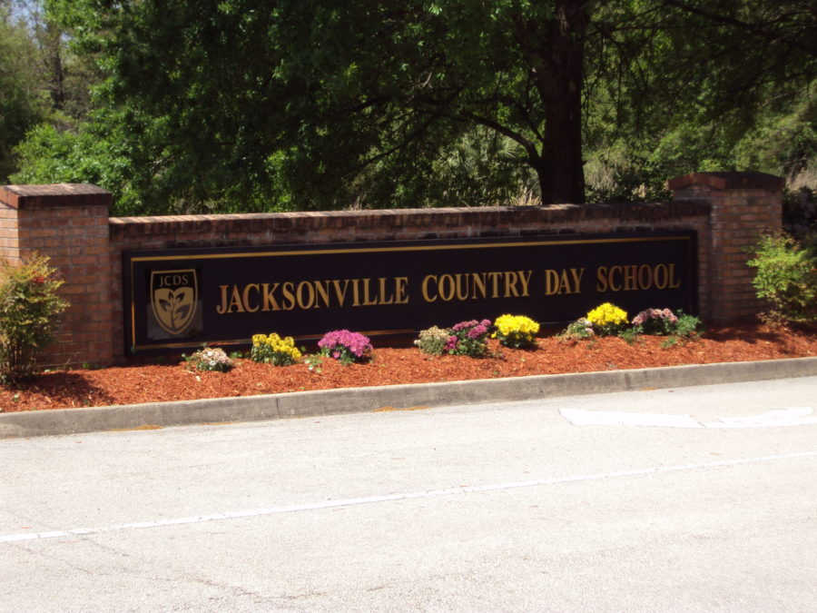 Sign: Jacksonville Country Day School