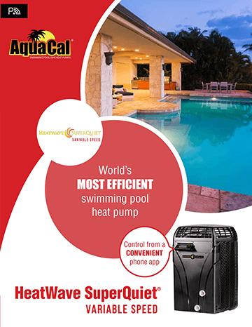 AquaCal Heatwave Superquiet Variable Speed Brochure Cover