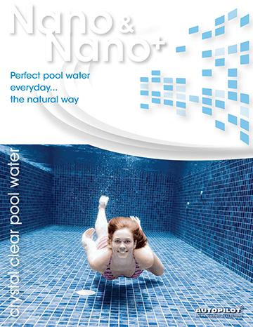 Autopilot Nano and Nano+ Salt Chlorine Generator brochure cover