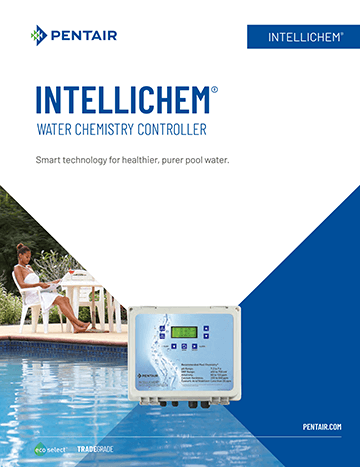 Pentair Intellichem Brochure Cover