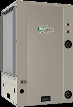 GeoComfort Element series GeoThermal air conditioner vertical packaged unit