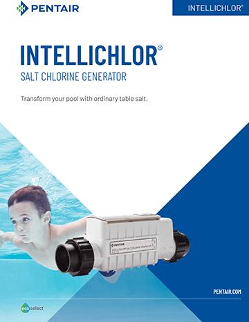 Pentair Intellichlor salt system brochure cover